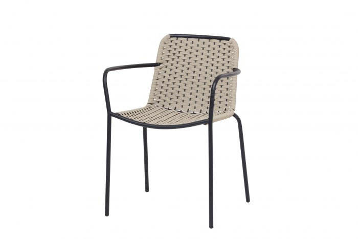 Palma Arm Chair Low Back 19mm Frame