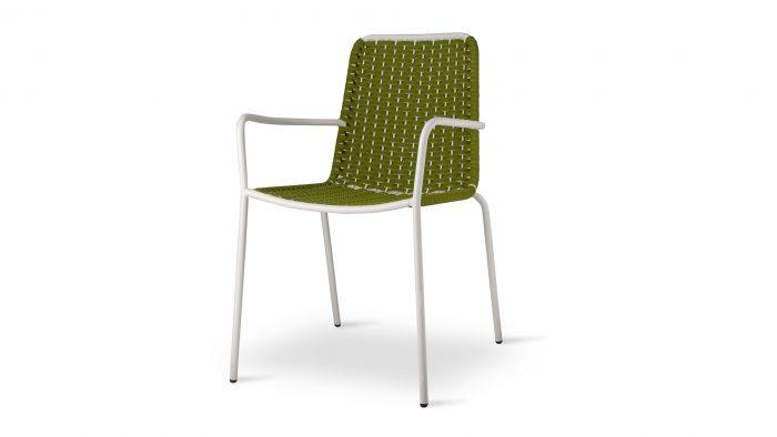 Palma Arm Chair High Back 19mm Frame