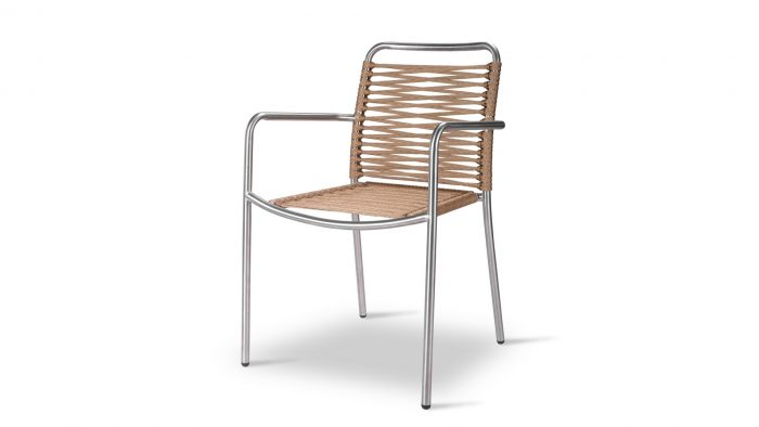 Cortina Arm Chair Inox 316